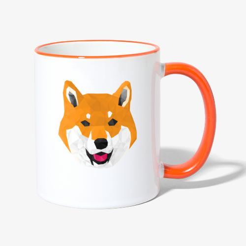 Shiba Dog - Contrasting Mug