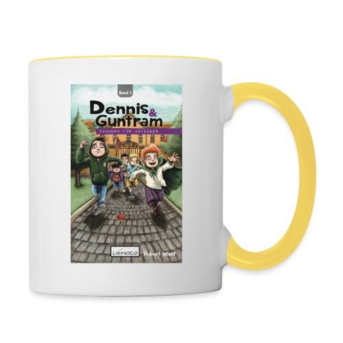 DennisGuntram Band1 1500x2400 jpg - Tasse zweifarbig