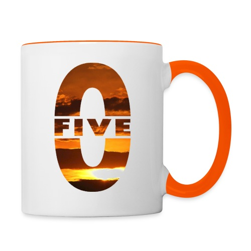 Five0 Sunset - Mug contrasté