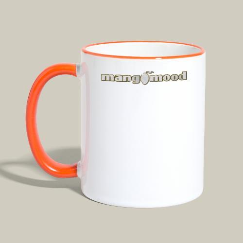 Mangomood Logo - Tasse zweifarbig