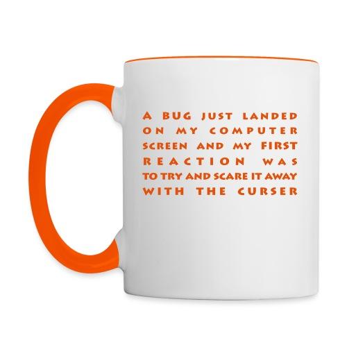 bug - Kaksivärinen muki