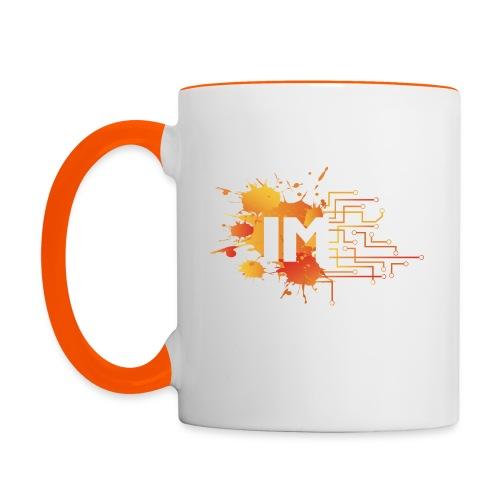 IM Logo Abrv - Contrasting Mug