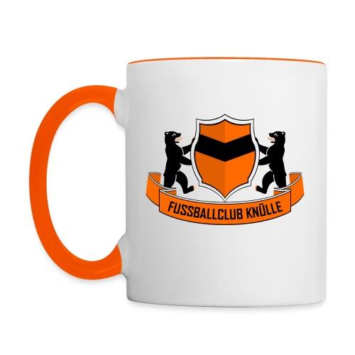 Neues Logo - Tasse zweifarbig