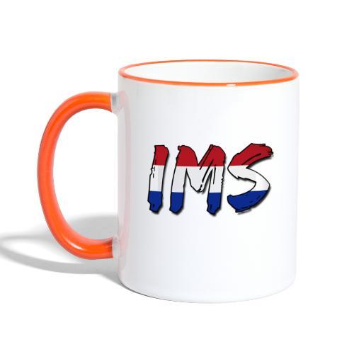ims flag origineel - Contrasting Mug