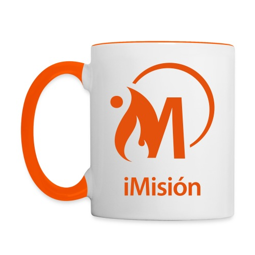 iMisión 1 - Taza en dos colores