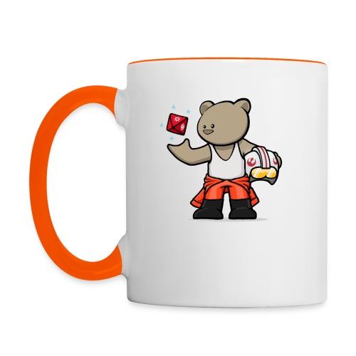 vanguard bear jedi2 - Contrasting Mug