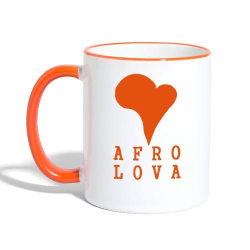 Afro Lova Original - Mug contrasté
