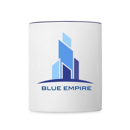 Logo Azul - Taza en dos colores