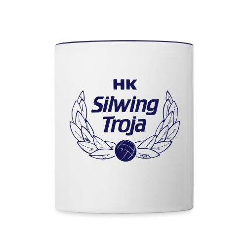 HK Silwing Troja Logo - Tvåfärgad mugg