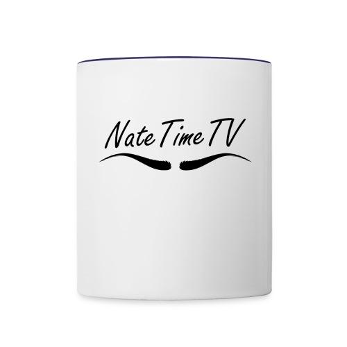 natetimelogo - Contrasting Mug