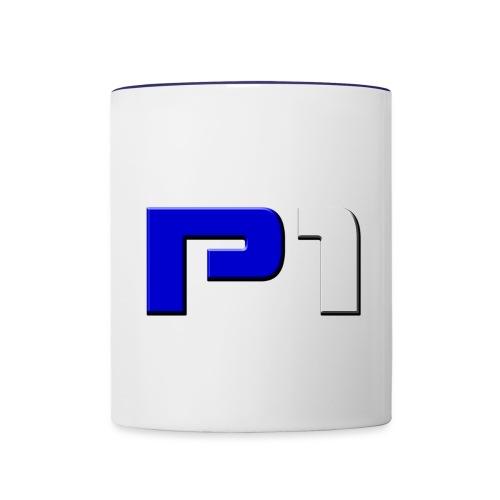 ^^P1^^ - Tasse zweifarbig