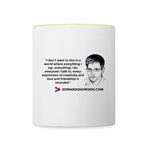 design_5 - Contrasting Mug
