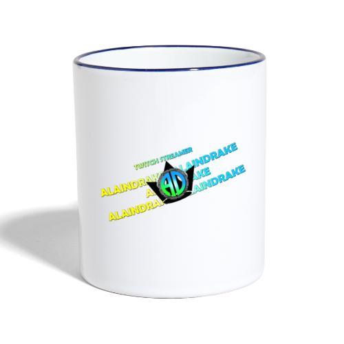 Alaindrake Twitch - Tasse zweifarbig