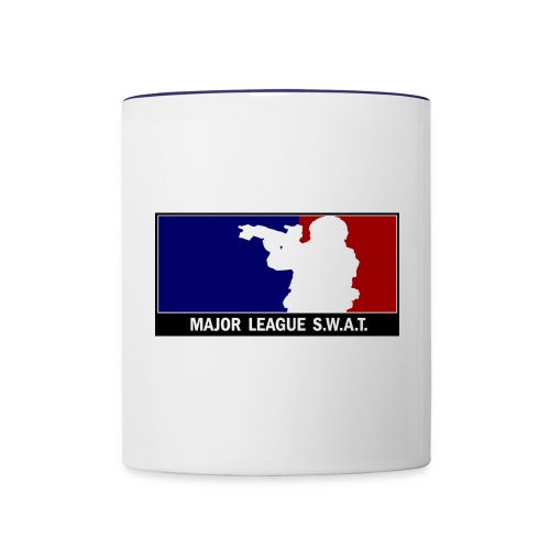 Major League SWAT - Tasse zweifarbig