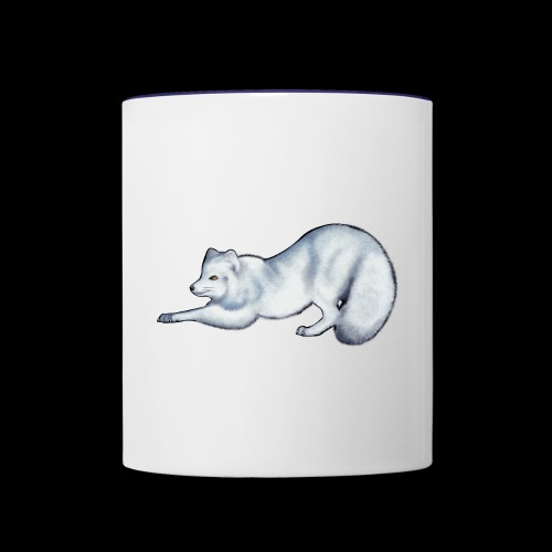 Arctic Fox - Contrasting Mug