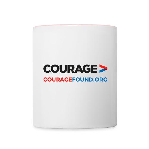 design_1blk - Contrasting Mug