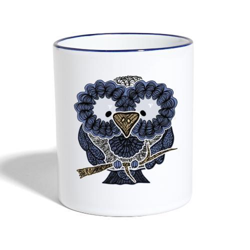 An owl - Contrasting Mug