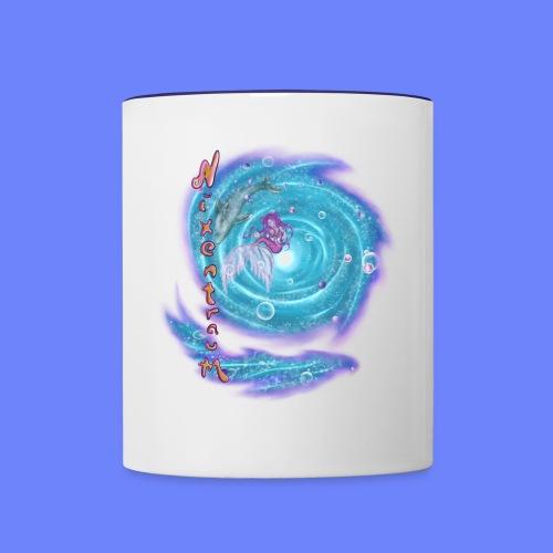 nixentraum - Tasse zweifarbig