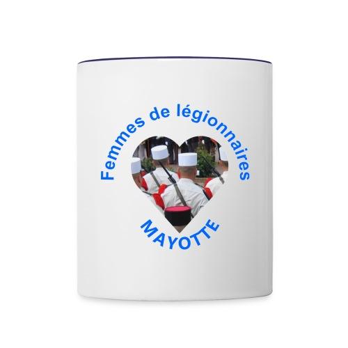 logo mayotte - Mug contrasté
