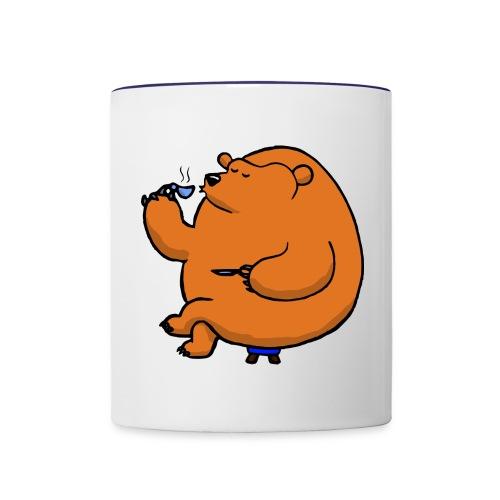 tea bear - Contrasting Mug