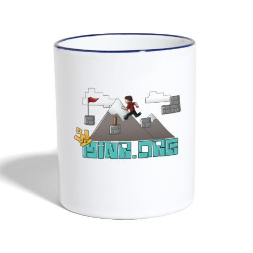 Minr.org Logo - Contrasting Mug