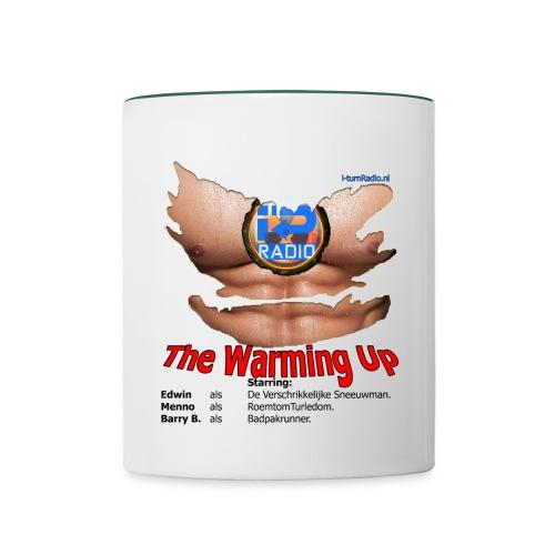 borst reactor cut the warming up png - Mok tweekleurig