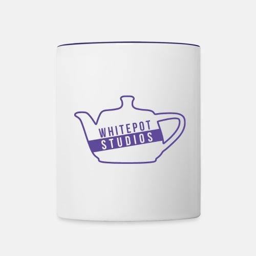 Whitepot Studios Logo - Contrasting Mug
