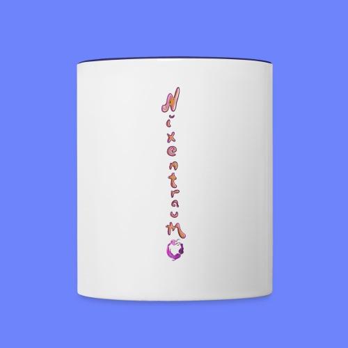 nixentraum8 - Tasse zweifarbig