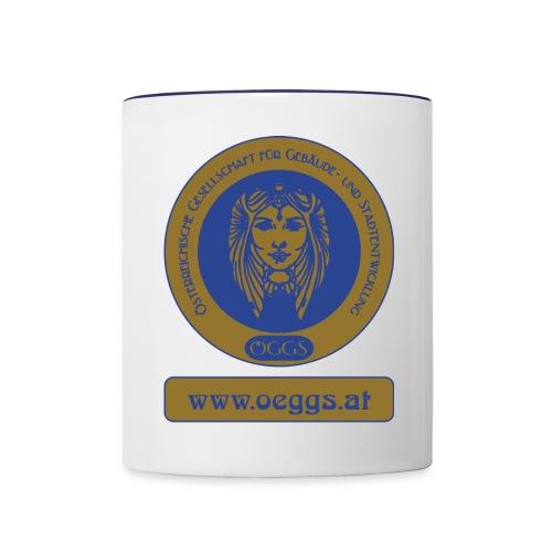 ÖGGS Logo - Tasse zweifarbig