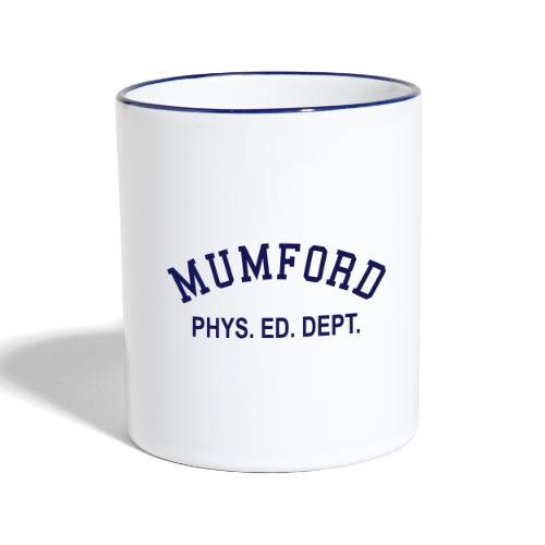 mumford phys ed - Contrasting Mug