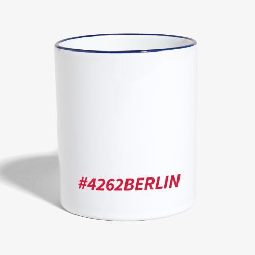 #4262berlin - Tasse zweifarbig
