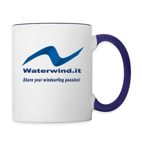 logo waterwind lycra magliette no sfondo png - Contrasting Mug