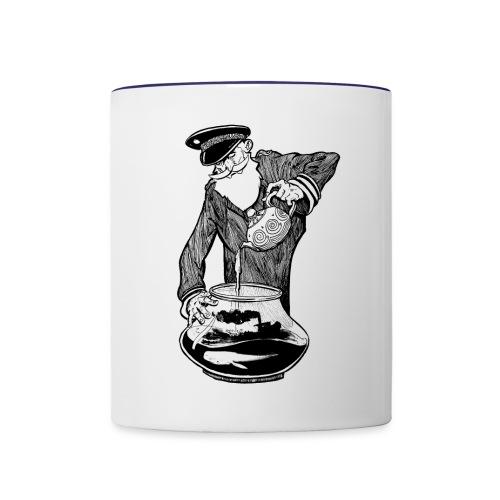 A Captains Delight Refill - Contrasting Mug