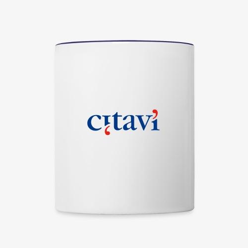 Citavi Logo - Tasse zweifarbig