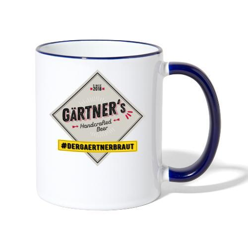 dergaertnerbraut - Tasse zweifarbig