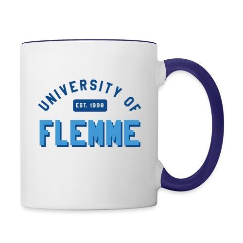 UniversityOfFlemme2 png - Mug contrasté