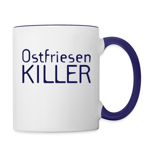 Ostfriesenkiller - Tasse zweifarbig