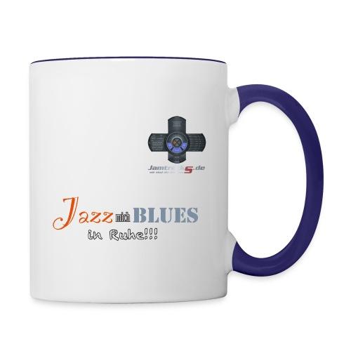 jazz mich blues png - Tasse zweifarbig