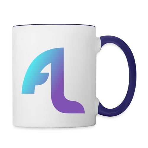 AnTiLaucH Logo - Tasse zweifarbig