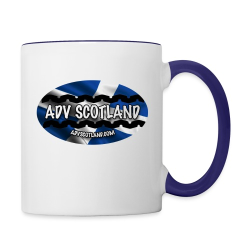 ovalpic - Contrasting Mug
