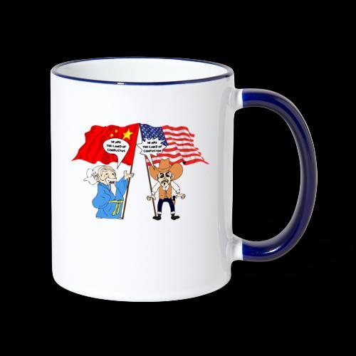 konfuzz - Tasse zweifarbig