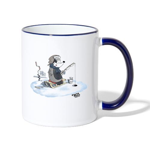 Ice Fishing Badger - Tofarget kopp
