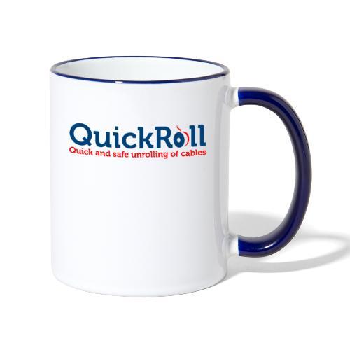 QuickRoll - Tvåfärgad mugg