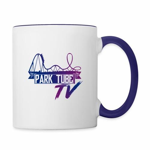 ParkTubeTV Logo - Tasse zweifarbig