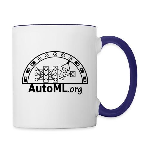 automl_org_black - Contrasting Mug