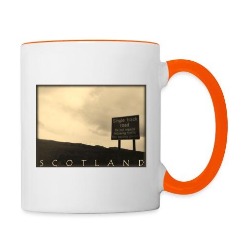 Scotland #1 (Vintage) - Tasse zweifarbig