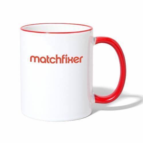 matchfixer - Mok tweekleurig