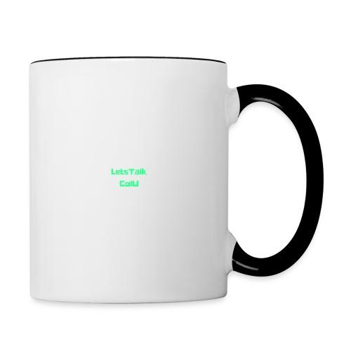 LetsTalk ColU - Contrasting Mug