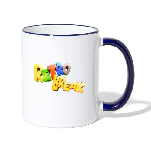 RetroBreak Logo - Contrasting Mug