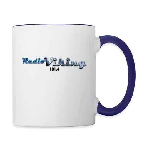 Radio_Viking_1 - Tvåfärgad mugg